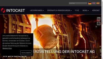 Site internet de Intocast France