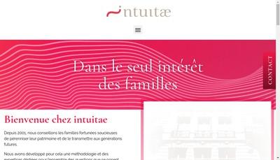 Site internet de Intuitae