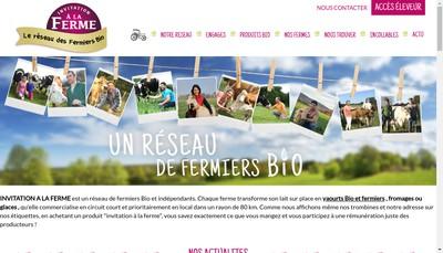Site internet de Invitation a la Ferme