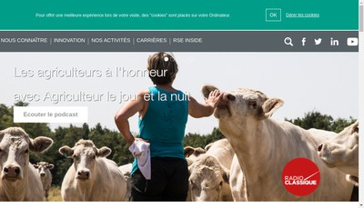 Site internet de Bioline Group