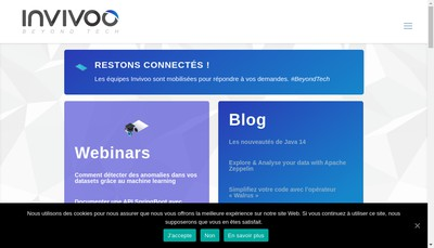 Site internet de Invivoo
