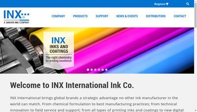Site internet de Inx International France SAS