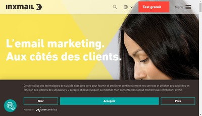 Site internet de Inxmail France