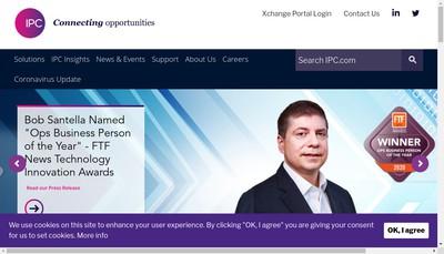 Site internet de Ipc Information Systems France