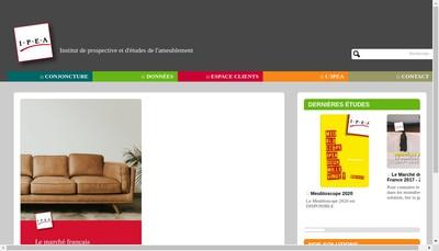 Site internet de Instit Promo Etude Ameublement