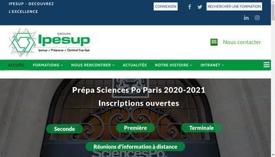 Site internet de Ipesup