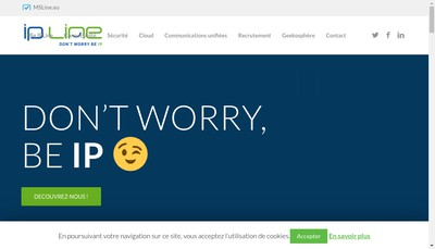Site internet de Ipline