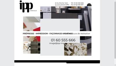 Site internet de Ipp