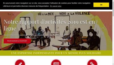 Site internet de Iram Institut de Recherches et d'Applications des Methodes de Developpement