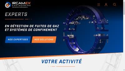 Site internet de Ircamex