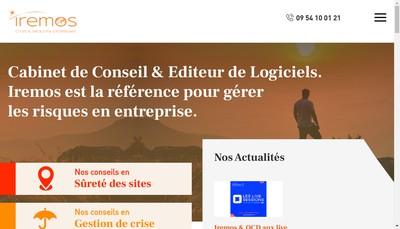 Site internet de Iremos