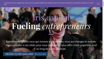 Site internet de Iris Capital Management