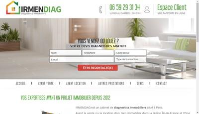 Site internet de Irmendiag