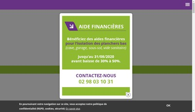 Site internet de Thermiroise