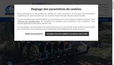 Site internet de Technicappro