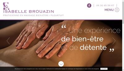 Site internet de Isabelle Brouazin l'Espace Bien Etr
