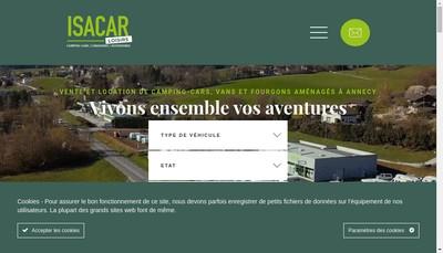Site internet de Isacar
