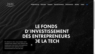 Site internet de Isai Partners
