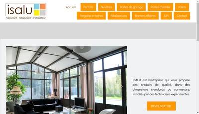 Site internet de Isalu SARL