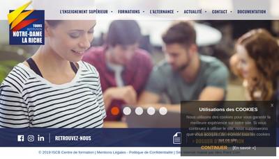 Site internet de ISCB