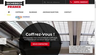 Site internet de Ischebeck France