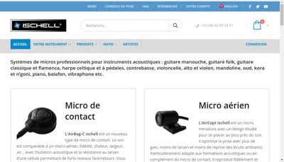Site internet de Ischell