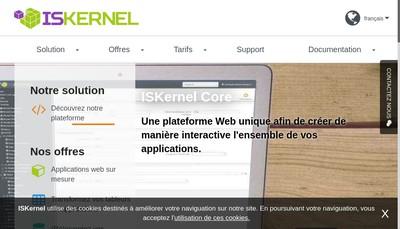 Site internet de Iskernel