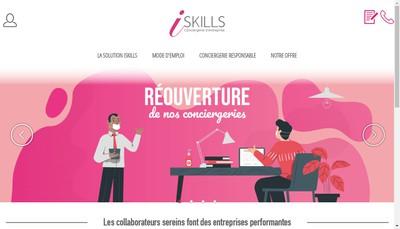 Site internet de Iskills