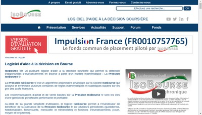 Site internet de Impulsion Finance