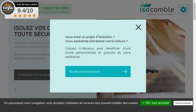 Site internet de Isocomble