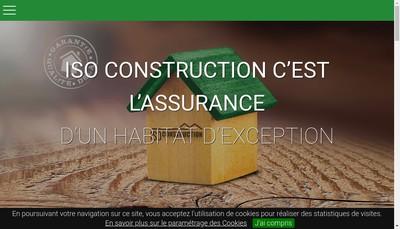 Site internet de Iso-Construction