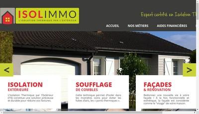 Site internet de Isolimmo