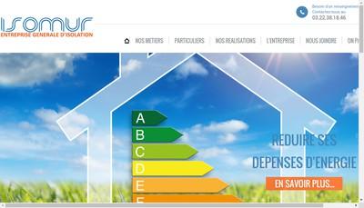 Site internet de Isomur Activities