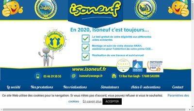 Site internet de Isoneuf