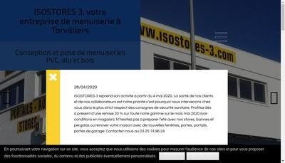 Site internet de Isostores 3