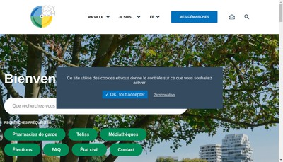Site internet de SCI Fort d'Issy