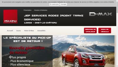 Site internet de Jep Services Rodez
