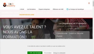 Site internet de It-Akademy