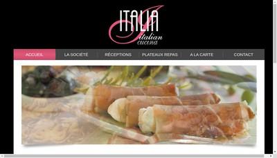 Site internet de Italian Cucina