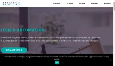 Site internet de Itamsys