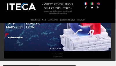 Site internet de Iteca