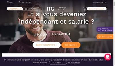 Site internet de Institut du Temps Gere