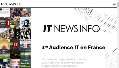 Site internet de It News Info