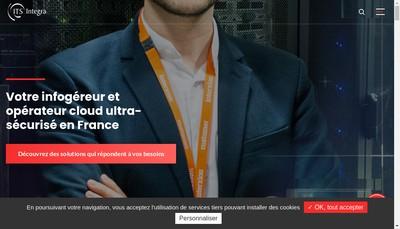 Site internet de Integra