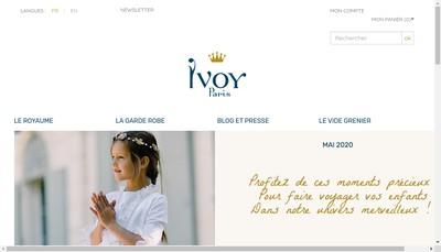 Site internet de SARL Ivoy