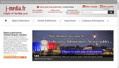 Site internet de J-Media