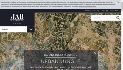 Site internet de Societe des Creations Jab