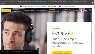 Site internet de Gn Audio France SA