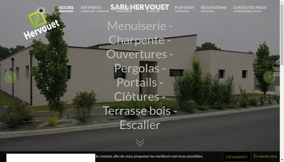Site internet de SARL Hervouet