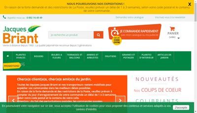 Site internet de Jacques Briant